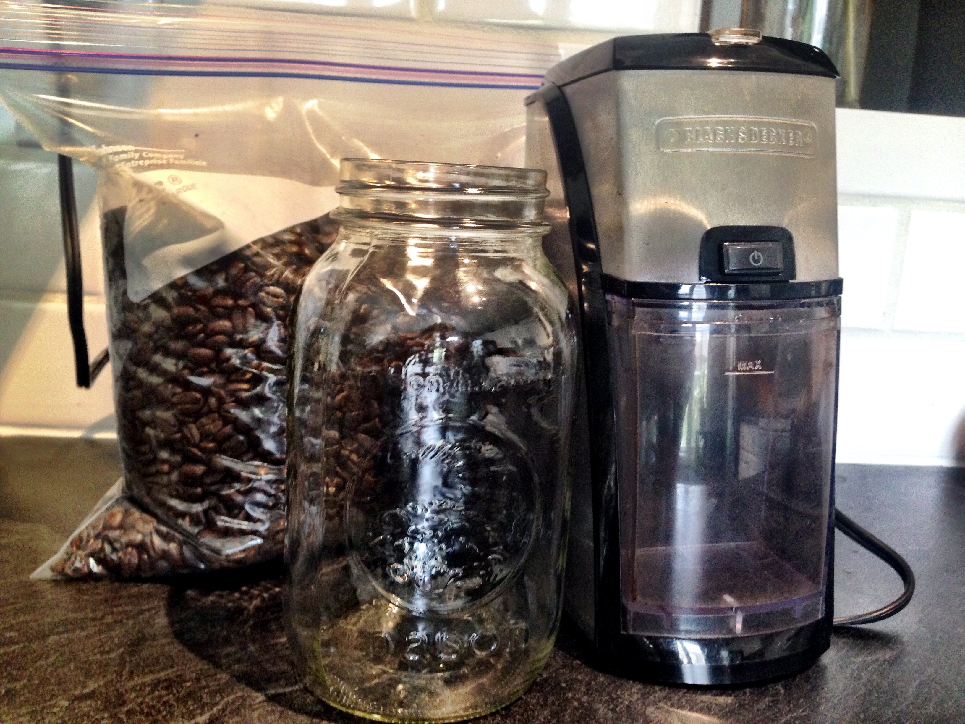 My super-professional coffee making supplies.