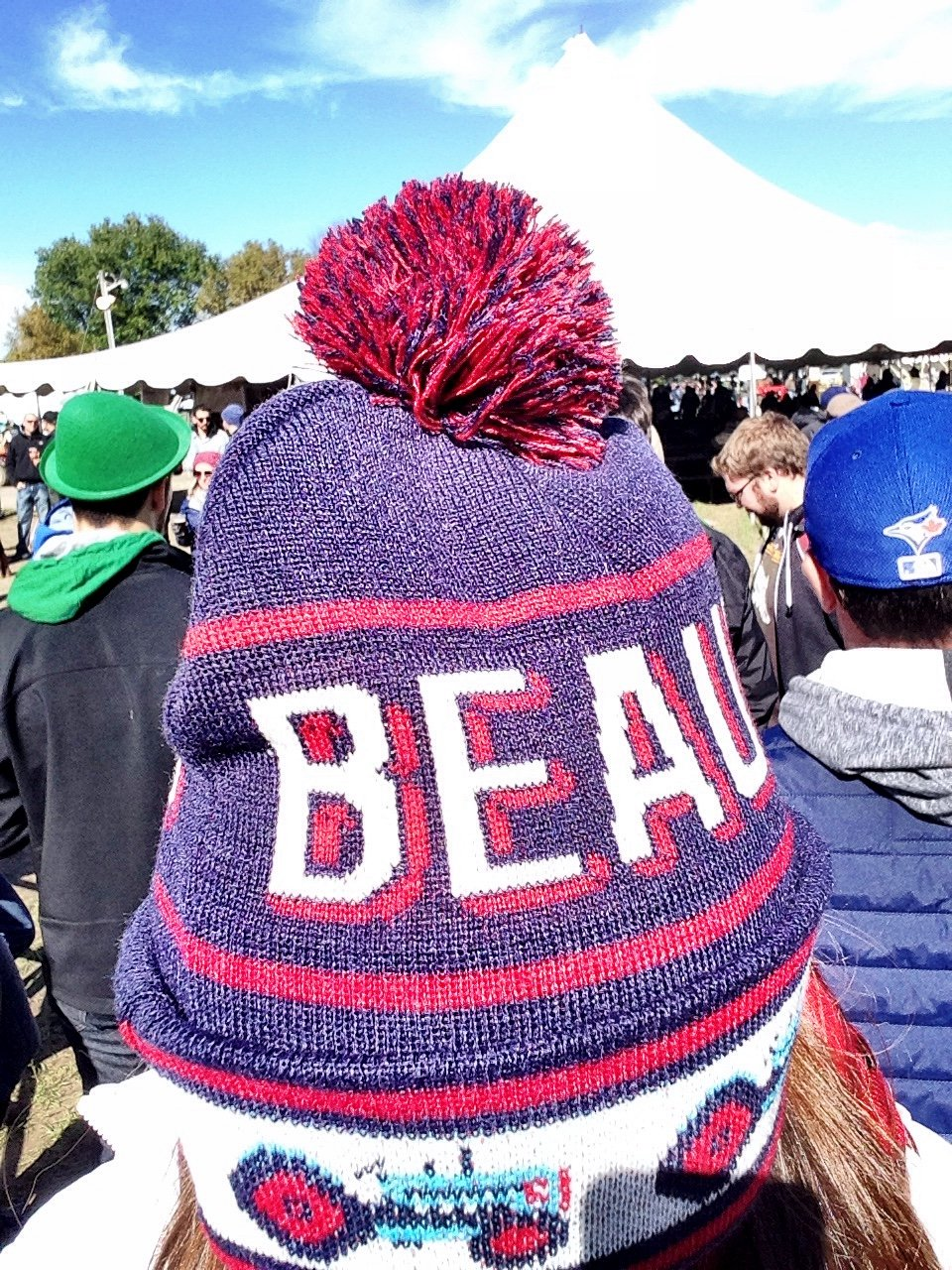Such toque. So Canada.