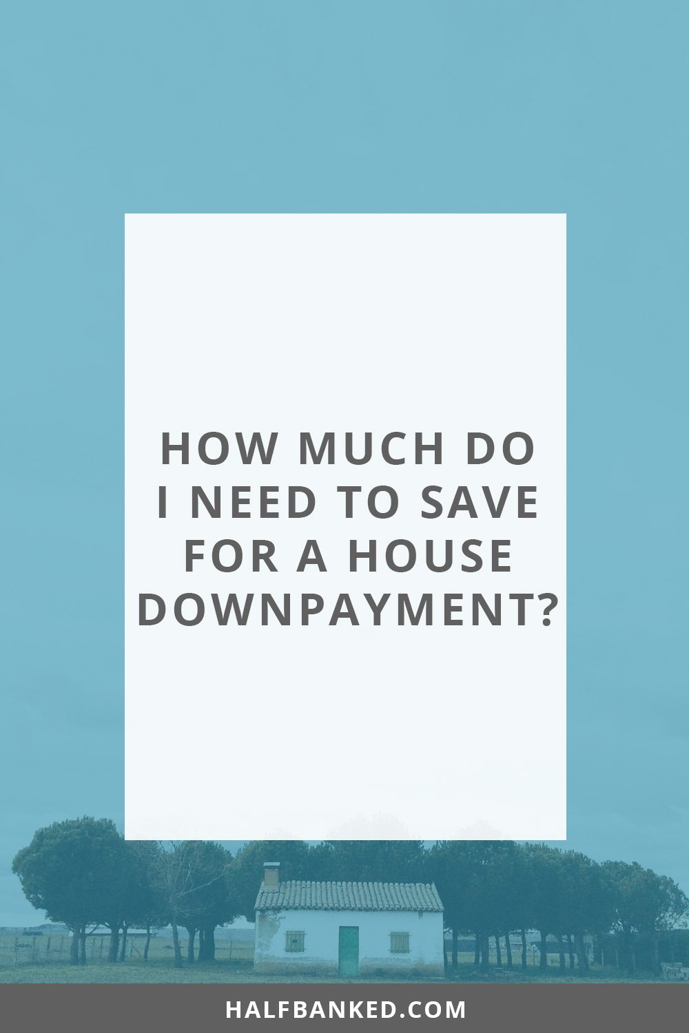 how much do i need to save for a mortgage