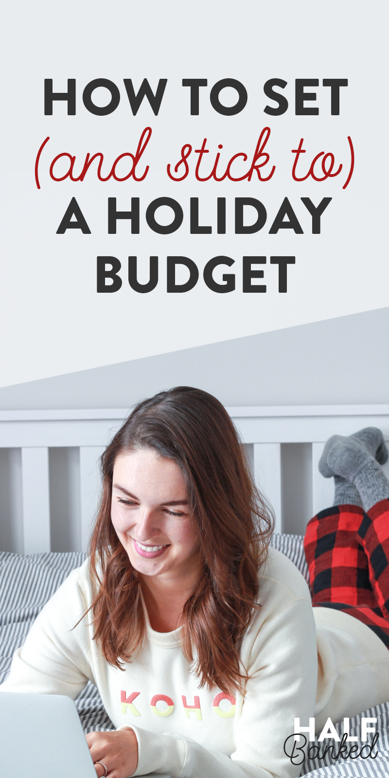 The three-step process I use to set and stick to my holiday budget. With a bit of planning, it's totally possible! #Holiday #Budgeting #BudgetPlanning #GiftBudget #ChristmasBudget