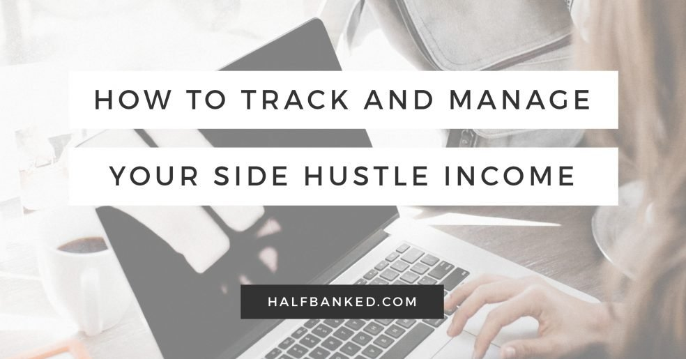 How to track and manage your side hustle income
