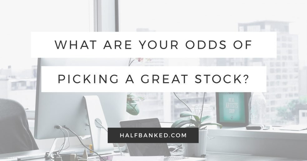 What are your odds of being a winning stock picker? (Spoiler alert: not great)