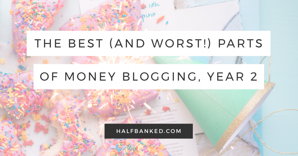 The best and worst parts of the past year I spent blogging about money