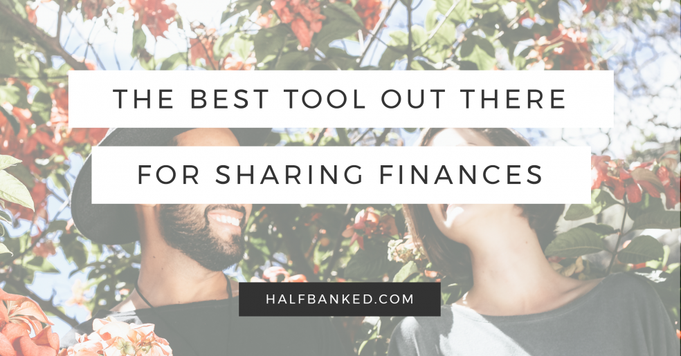 The one tool you need to share finances: a joint spreadsheet.