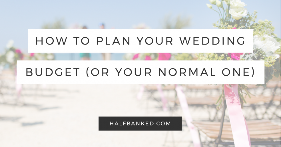 How to plan your wedding budget without losing it