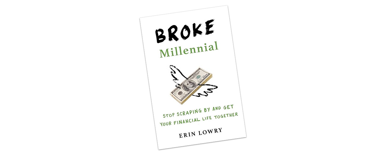 Broke Millennial is a great gift for personal finance newbies.