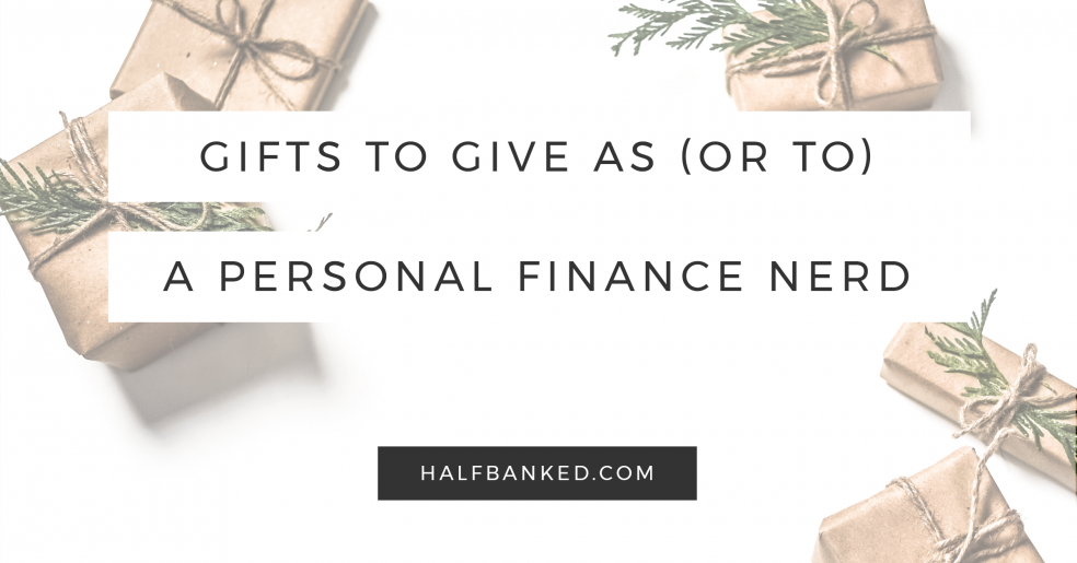 A personal finance gift guide, so you can give the gift of money smarts this year.
