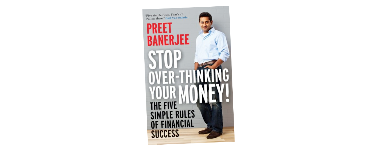 Stop Overthinking Your Money book is a great gift.
