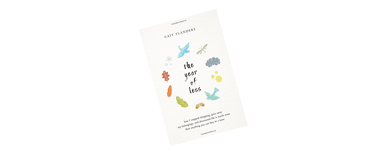 The Year Of Less Book