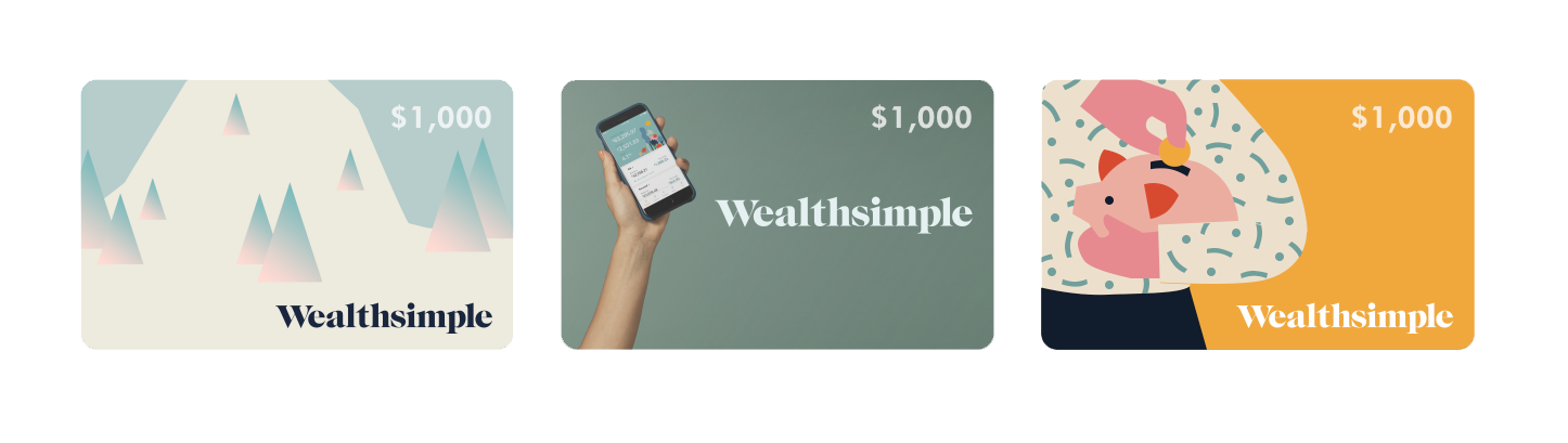Wealthsimple gift cards are a great gift this holiday season.
