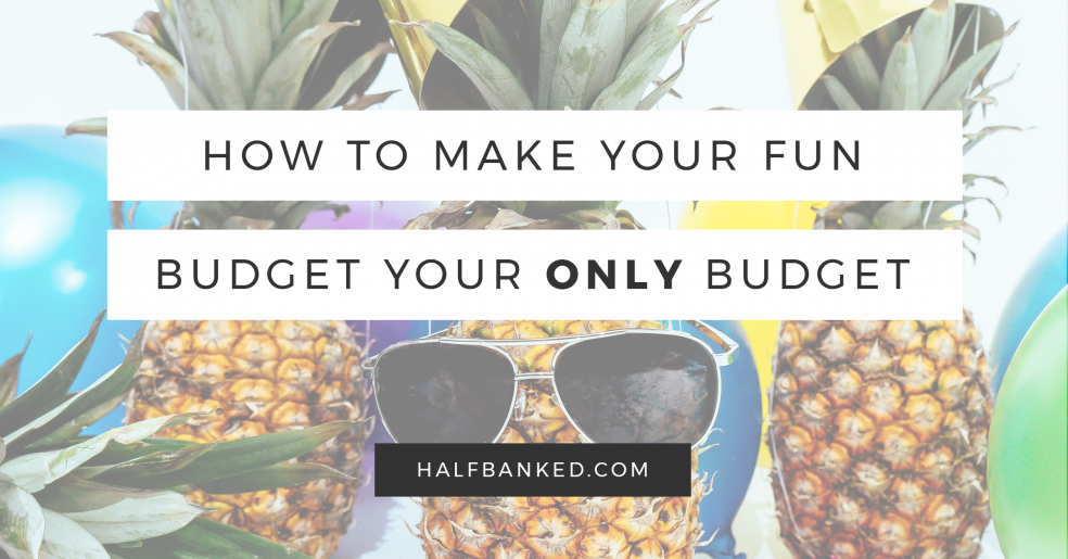 You can make a simple budget - here's how
